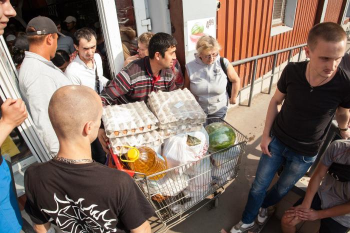 В Голій Пристані безробітні крадуть харчі