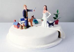 Определение доли при разделе совместной собственности супругов