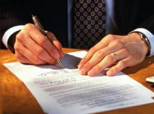 Основные пункты договора продажи авто