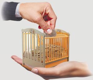 Выплата алиментов на ребенка
