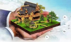 Порядок продажи участка с домом