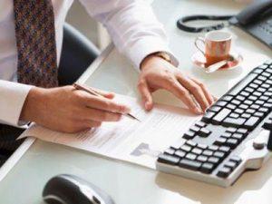 Заполнение и передача электронного документа