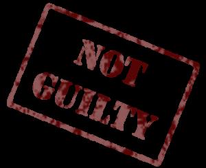 Как не уронить достоинство и доказать невиновность?