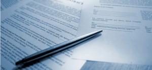 Заполнение документов установленного образца