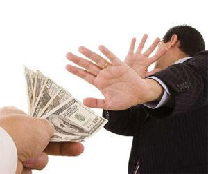 Борьба с коррупцией и взятками