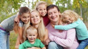 Благополучие большой семьи